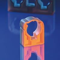 Uchycení potrubí - plast. příchytky