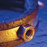 Uchycení potrubí - ocel. objímky