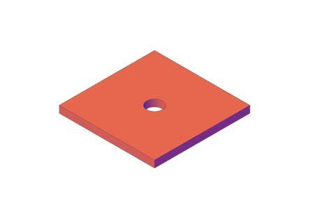 ON130650 (ON130650.1; ON130650.2) Podložka pro stropní závěsy
