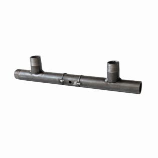 Stabilizator spacer for gas meter