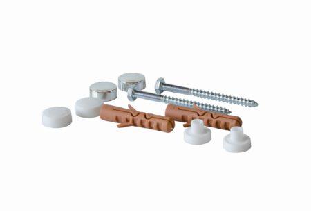 Souprava šroubů na upevnění bidetů a WC keramiky