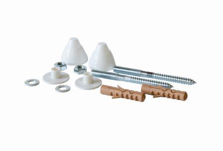 Souprava šroubů pro upevnění pisoárů, nástěnných bidetů a nástěnné WC keramiky