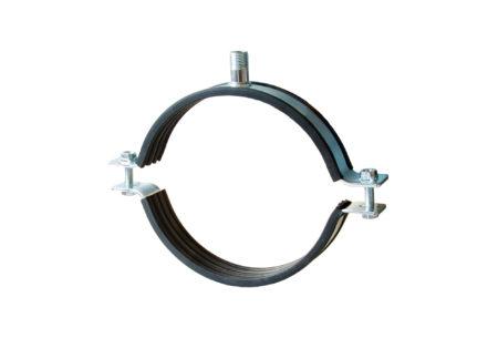Pipe clamp MASIV (heavy duty) with head UNI (M12, M16, 1/2″)