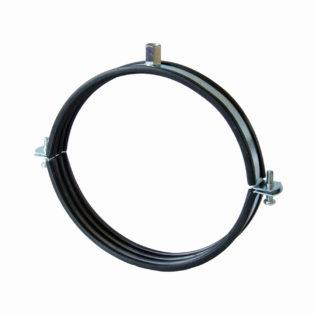 Objímka pro ventilační potrubí s tlumící vložkou a upevňovací hlavou M8/M10