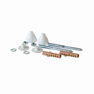 Urinal, wall bidet and wall closet fixing kit