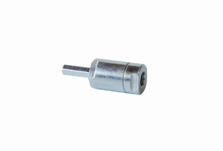 Mounting tool for drilling machines and manual tightening